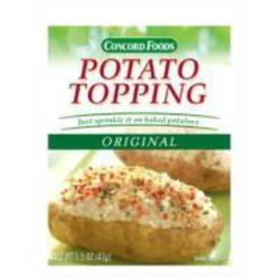 Concord Potato Topping - 18 Pack