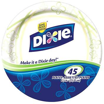 Dixie Heavy Duty Plate 8 5/8