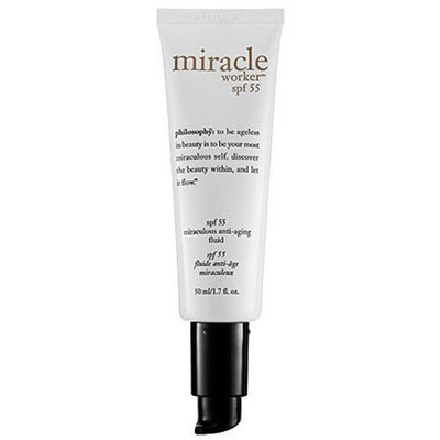 Philosophy Miracle Worker Moisturizer with SPF 55, 1.7 Ounce