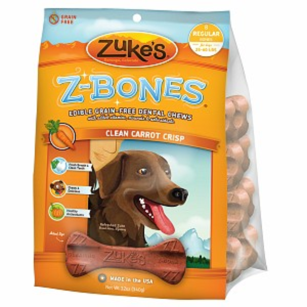 Zuke's Z-Bones Regular Clean Carrot Crisp
