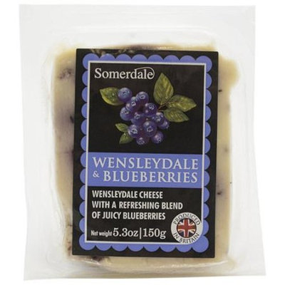 Generic Somerdale Wensleydale & Blueberries Cheese, 5.3 oz