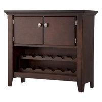Foremost Wine Cabinet: Avington Buffet - Dark Tobacco