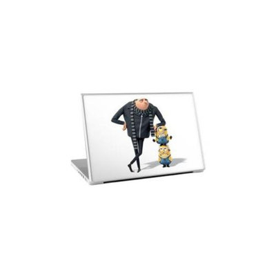 Zing Revolution MS-DMT280011 Despicable Me 2 - Leaning Laptop Cover Skin for 15-Inch Mac and PC (MS-DMT280011)