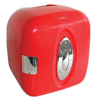 Koolatron Coca-Cola 9-Can-Capacity Mini Fridge