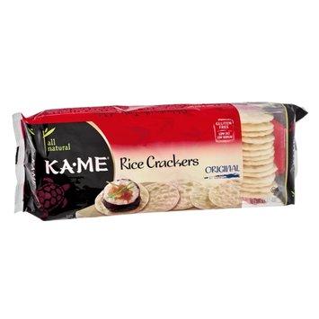KA-ME All Natural Original Rice Crackers