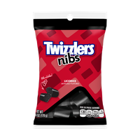 Twizzlers Candy Black Licorice