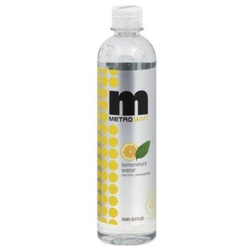 Kehe Distributors Metromint Lemonmint Water, 16.9100-ounces (Pack of12)