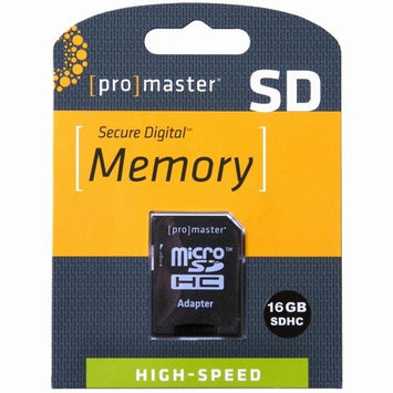 ProMaster 16GB Performance Micro SDHC 660X Memory Card