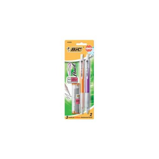 BIC Velocity Mechanical Pencils 0.7mm, 2 pack