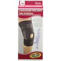 OTC ORTHOTEX Knee Stabilizer with Spiral Stays, Small