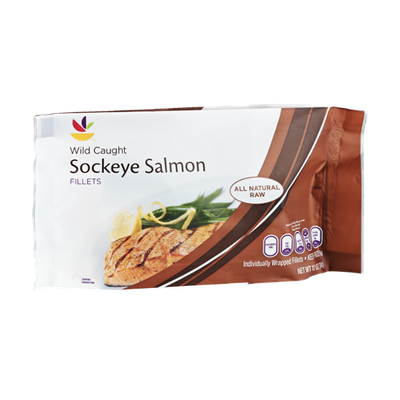 Ahold Wild Caught Sockeye Salmon Fillets
