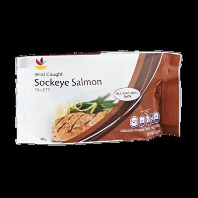Ahold Wild Caught Sockeye Salmon Fillets
