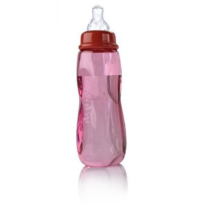 Nuby 3 Pack Tinted Bottle, 8 Ounce, Colors May Vary (Discontinued by Manufacturer)