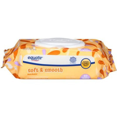 Equate Shea Butter Soft & Smooth Wipes