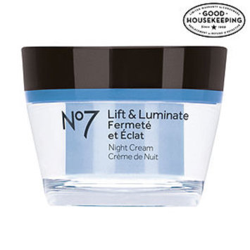 Boots No7 Lift & Luminate Night Cream, 1.6 fl oz