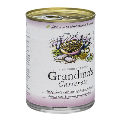 Variety Pet Foods Grandma's Casserole Fine Food for Dogs