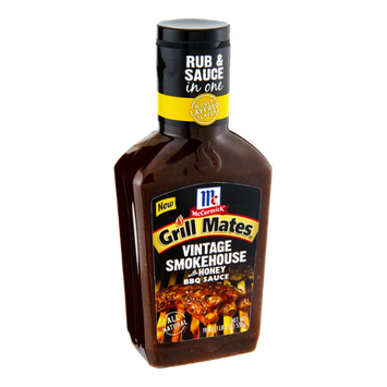 McCormick Grill Mates Vintage Smokehouse with Honey BBQ Sauce