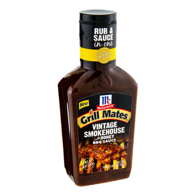 McCormick® Grill Mates® Vintage Smokehouse with Honey BBQ Sauce
