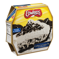 Edwards Cookies & Creme Pie in a Cookie Crust