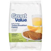 Great Value: Turkey Breakfast Patties, 24.92 Oz