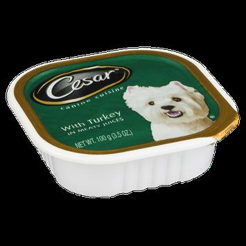 Cesar Turkey Canine Cuisine