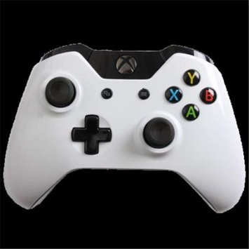 Evil Controllers X1mGWCxMM Glossy White Master Mod Xbox One Modded Controller
