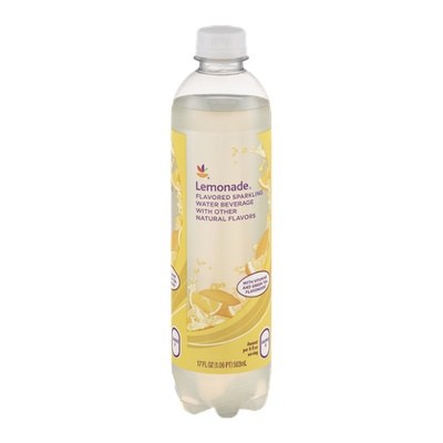 Ahold Flavored Sparkling Water Beverage Lemonade