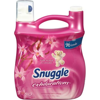 Snuggle Exhilarations Liquid Fabric Softener