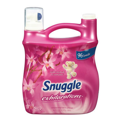 Snuggle Exhilarations Liquid Fabric Softener