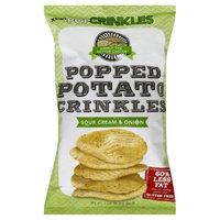 PopCrinkles Popped Potato Crinkles Sour Cream & Onion 3.5 oz