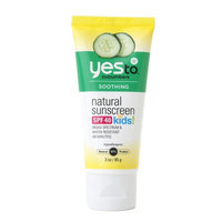 Yes to Cucumbers Natural Sunscreen Kids SPF 40