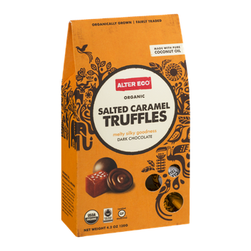 Alter Eco Salted Caramel Truffles Dark Chocolate