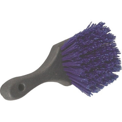 Birdwell Cleaning Products Round Poly Brush Blue 8 Inch