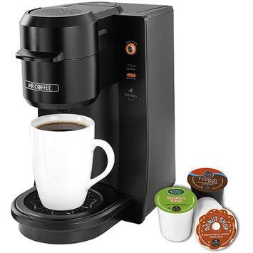Mr. Mr. Coffee Single Serve with Keurig Brewed Technology - Black
