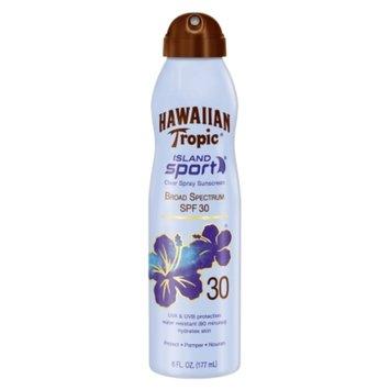 Hawaiian Tropic Island Sport Clear Spray Sunscreen