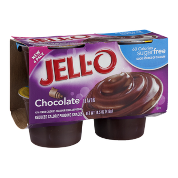JELL-O Pudding Snacks Chocolate Sugar Free