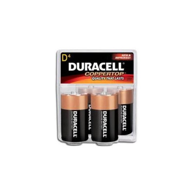 Lavi Industries 90-ST7-4DB D Alkaline Batteries - Pack 4
