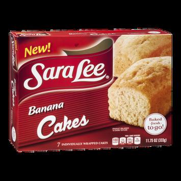 Sara Lee Banana Cakes - 7 CT