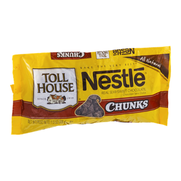 Nestlé Toll House Chunks Semi-Sweet Chocolate