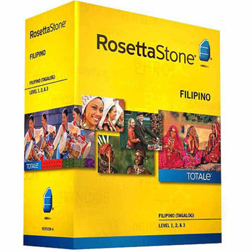 ROSETTA STONE Rosetta Stone Version 4 Filipino (Tagalog) Levels 1-3 Set (PC/Mac)