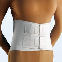 NYOrtho Duo-Compression Lumbosacral Support in White