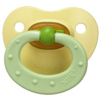 NUK Classic Latex BPA Free Pacifier, 0+ Months, Colors May Vary (Discontinued by Manufacturer)