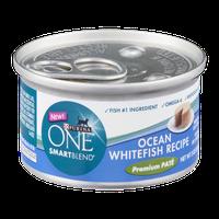 Purina One Smartblend Ocean Whitefish Recipe Premium Pate