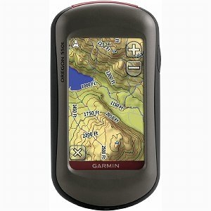 Garmin Oregon 550T Portable Gps System
