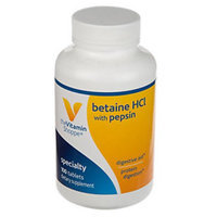 Vitamin Shoppe Betaine Hcl With Pepsin