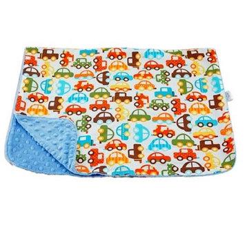 Blue Baby Bum Cars Blanket