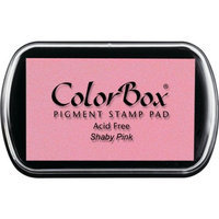 ColorBox Classic Pigment Ink, ColorBox Classic Pigment Ink Pad, Full Size, Shabby Pink