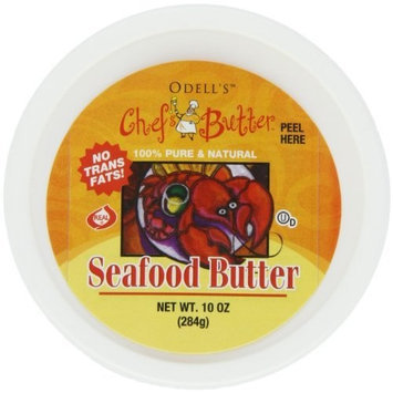 O'dells Odell's Chef's Butter, Seafood Butter, 10-Ounce Tubs (Pack of 3)