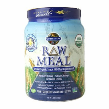Garden of Life RAW Meal Replacement, Vanilla, 1.23 lbs