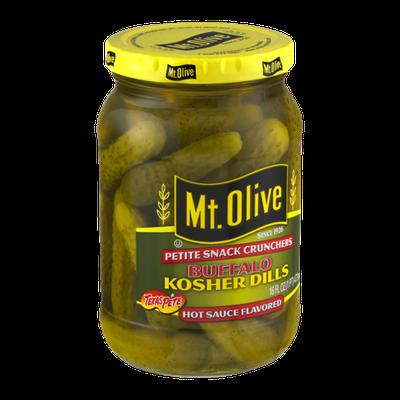 Mt. Olive Petite Snack Crunchers Buffalo Kosher Dills